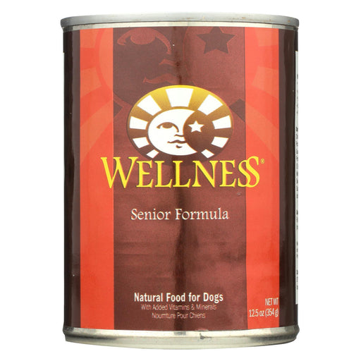 Wellness Pet Products Dog Food - Senior Recipe - Case Of 12 - 12.5 Oz.-Eco-Friendly Home & Grocery-Wellness Pet Products-EpicWorldStore.com