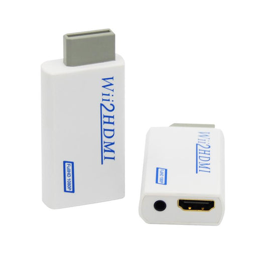 Wii To Hdmi Adapter Converter Support 720P1080P 3.5Mm Audio For Hdtv Wii2Hdmi-Cables & Connectors-ShenZhen-Thinking Store-Black-EpicWorldStore.com