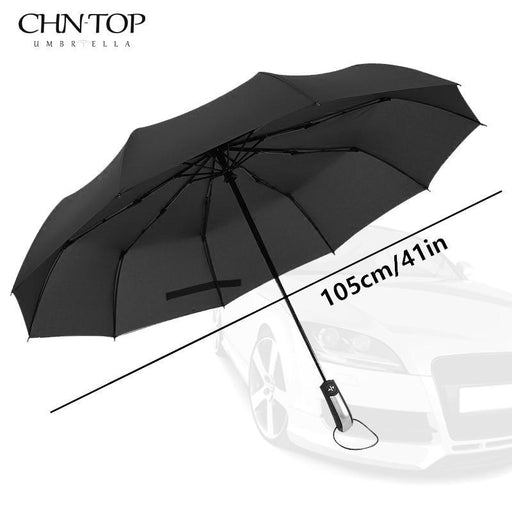 Wind Resistant Folding Automatic Umbrella Rain Women Auto Luxury Big Windproof Umbrellas Rain For-Household Merchandises-TOPX Store-blue-EpicWorldStore.com