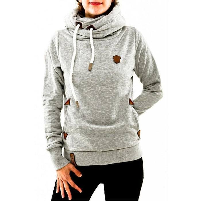 Winter Autumn Women Hoodies Female Warm Hooded Sweatshirt Long Sleeve Pockets Casual Loose-Hoodies & Sweatshirts-Brisky Store-Blue-S-EpicWorldStore.com