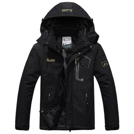 Winter Jacket Men Thick Windproof Hood Parka Mens Jackets And Coats Windbreaker Outdoorsport Coat-Jackets & Coats-Fashion Shopping Trade Co., Ltd.-Black-XL-EpicWorldStore.com
