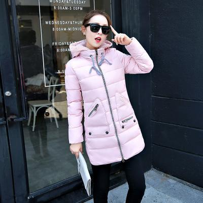 Winter Long Down Jacket Top Quality Pakas Women Long Sleeve Hooded Parka Winter Plus Size-Jackets & Coats-Sweethearts Store-pink-XL-EpicWorldStore.com