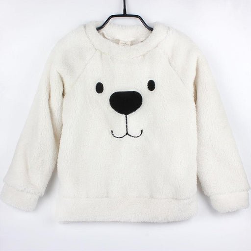 Winter Thick Sweater Coat Cartoon Bear Children Baby Sweaters Clothes Infant Warm Fleece Kid-Boys Clothing-Childhood Station Store-1-24M-EpicWorldStore.com