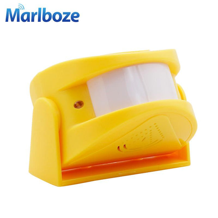Wireless Door Bell Welcome Chime Alarm Music Switch Pir Motion