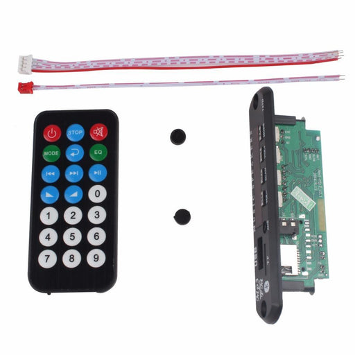Wireless Speaker Bluetooth 12V Mp3 Wma Decoder Board Audio Module Usb Tf Radio For Car Accessories-Speakers-Yiwu Shopping Mall-EpicWorldStore.com