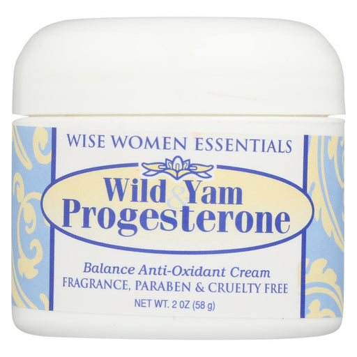 Wise Essential Wild Yam And Progesterone Cream - 2 Oz-Eco-Friendly Home & Grocery-Wise Essentials-EpicWorldStore.com