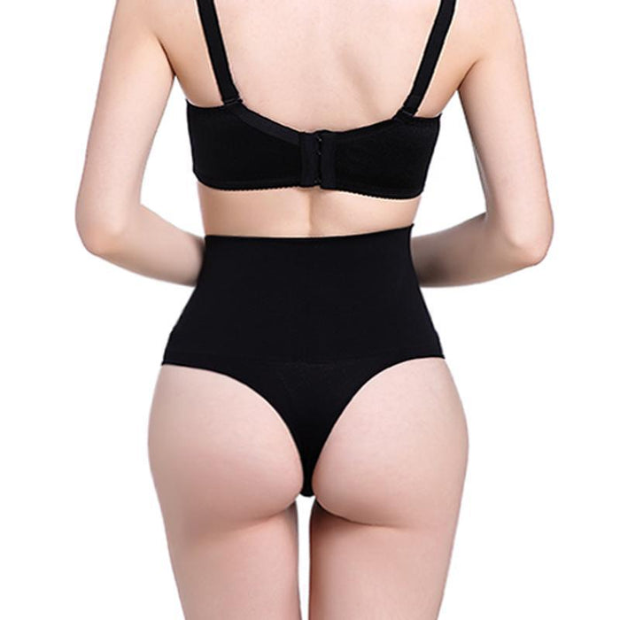 new style of 2019 new release how to find Women High Waist Trainer Tummy Slimming Control Waist Cincher Body Shaper  Thong G-String Butt Lifter