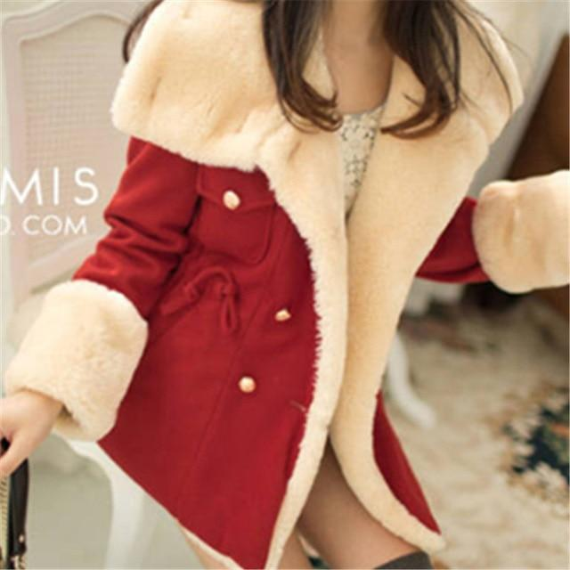 Women Parkas European Fashion Plaid Hooded Jacket Casual Loose Long Sleeve-Parkas-WSWG (Offer Drop Shipping ,OEM)-68601 red-S-EpicWorldStore.com
