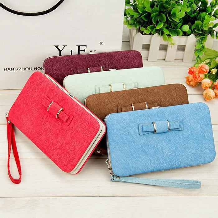 758239981e71 Women Wallets Purses Wallet Female Famous Brand Credit Card Holder Clutch  Coin Purse Cellphone-Wallets