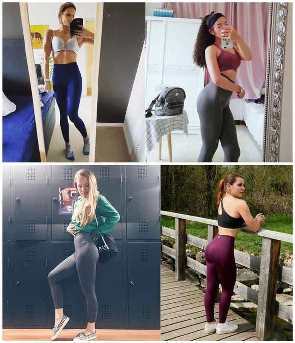 9641350ed4 Womens Butt Lift Sport Leggings Hollow Out Fitness Gym Leggings Seamless  Slim Compression Squat-ALBREDA