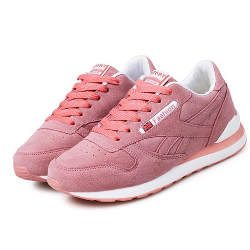 Womens Outdoor Sport Brand Light Running Shoes Lace Up Breathable Sneakers  Damping Anti Collision Pu- 994f89801cee