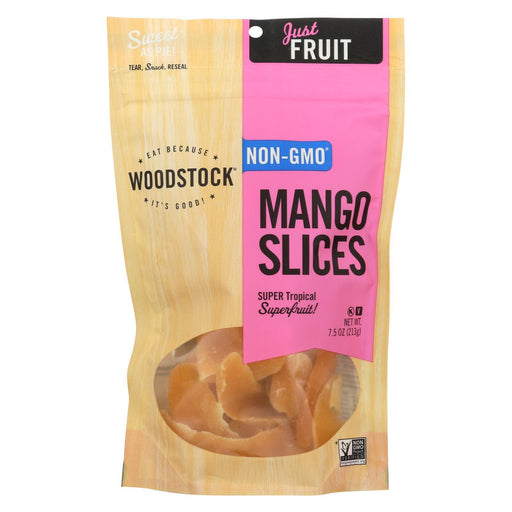 Woodstock Mango Slices - Case Of 8 - 7.5 Oz.-Eco-Friendly Home & Grocery-Woodstock-EpicWorldStore.com