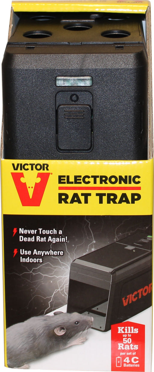 Woodstream Victor Rodnt D - Victor Electronic Rat Trap-Pet-Woodstream Victor Rodnt D-BLACK-1 PIECE-EpicWorldStore.com