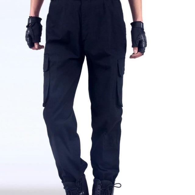 Work Pants Mens Auto Repair Labor Insurance Welding Factory Work Clothes Trousers Cotton Safety-Safety Clothing-i-Esteller Store-Dark Blue-165-EpicWorldStore.com