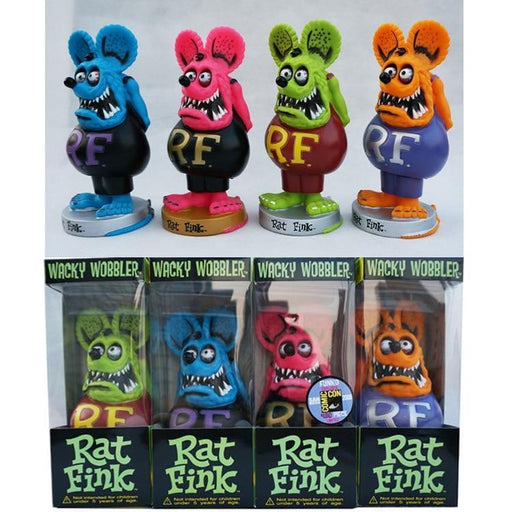 Xczj Rat Fink Big Daddy Pvc Action Figure Car Decoration Collectible Model Toys 17Cm-Action & Toy Figures-Shenzhen Ontop Technology Ltd. Company-Blue With Box-EpicWorldStore.com