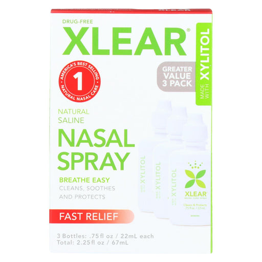 Xlear - Nasal Spray Sinus Economy - 3 Ct-Eco-Friendly Home & Grocery-Xlear-EpicWorldStore.com