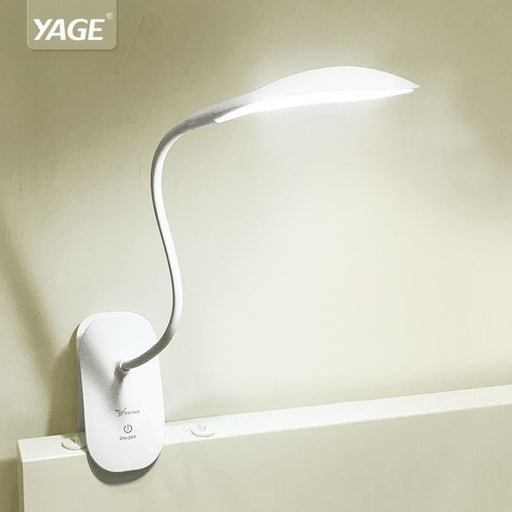 Yage 5932 Desk Lamp Led Reading Desk Light 14 Led Table Lamp Clip Led Touch On/Off Light Modern-Lamps & Shades-YAGE Official Store-EpicWorldStore.com