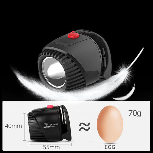 Yage Headlamp Rechargeable Led Head Lamp Lights On Your Forehead Led Headlight Flashlight Lintern-Portable Lighting-YAGE Official Store-EpicWorldStore.com