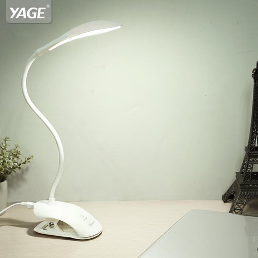 Yage Yg-5933 Desk Lamp Usb Led Table Lamp 14 Led Table Lamp With Clip Bed Reading Book Light Led-Lamps & Shades-YAGE Official Store-Blue-EpicWorldStore.com