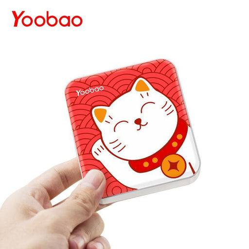 Yoobao M4 10400Mah Phone Charger Dual Usb Output Portable Device Charger Mini External Battery-Power Bank-Yoobao Official Store-Heart-EpicWorldStore.com