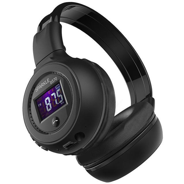 Zealot B570 Hifi Stereo Bluetooth Headphone Wireless Headset With Microphone Support Fm Radio-Portable Audio & Video-Tecsire Electronic Store-BLACK-EpicWorldStore.com