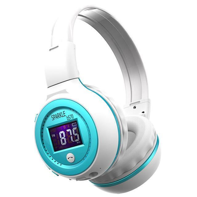 Zealot B570 Hifi Stereo Bluetooth Headphone Wireless Headset With Microphone Support Fm Radio-Portable Audio & Video-Tecsire Electronic Store-BLUE-EpicWorldStore.com