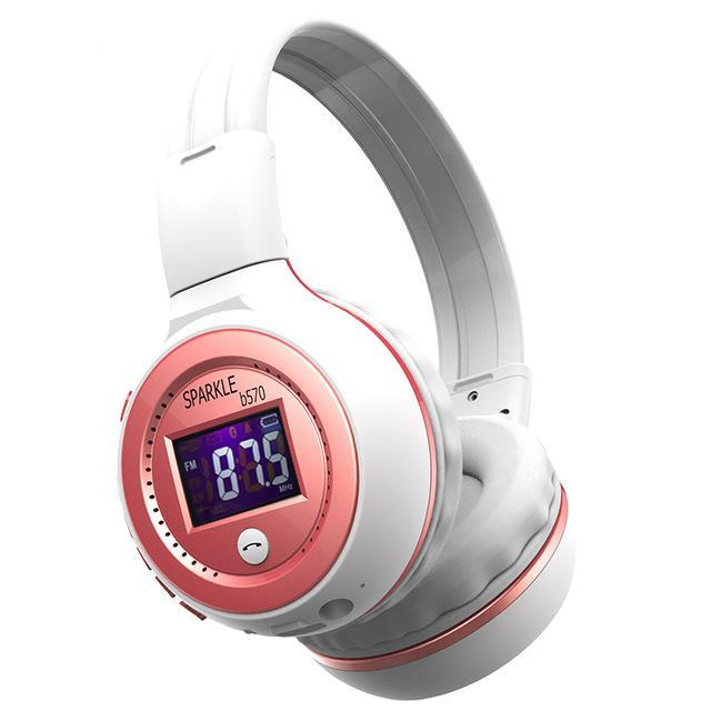 Zealot B570 Hifi Stereo Bluetooth Headphone Wireless Headset With Microphone Support Fm Radio-Portable Audio & Video-Tecsire Electronic Store-RED-EpicWorldStore.com