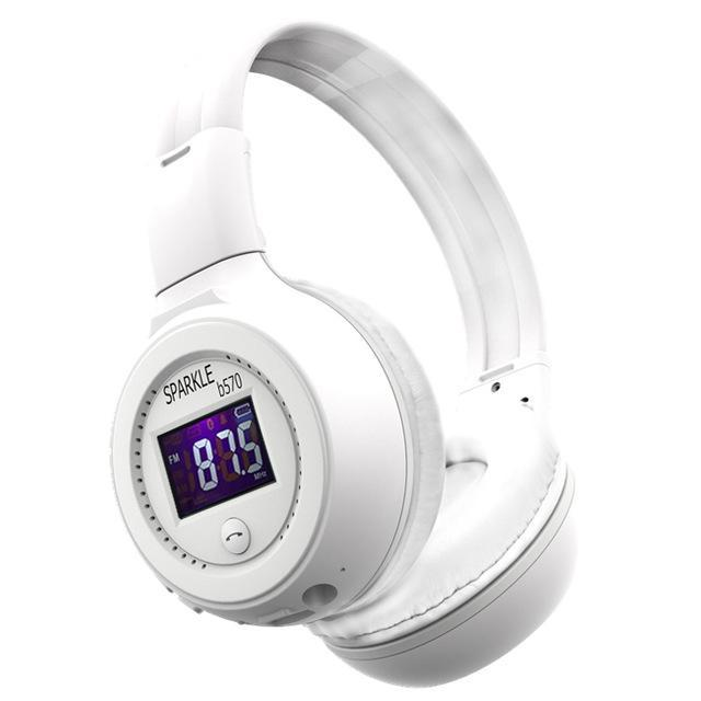Zealot B570 Hifi Stereo Bluetooth Headphone Wireless Headset With Microphone Support Fm Radio-Portable Audio & Video-Tecsire Electronic Store-WHITE-EpicWorldStore.com