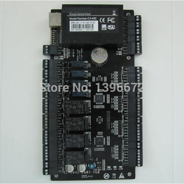 Zk Access Control Board Door Access Control Systems C3-400 Tcp/Ip Four-Door  One-Way Access Control