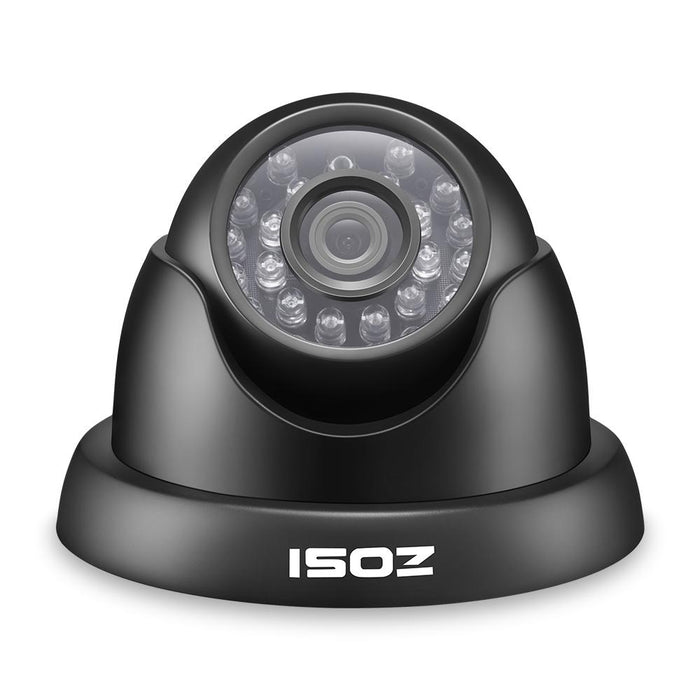Zosi 720P Tvi Outdoor Indoor Video Surveillance Dome Camera Hd 1280 Tvl Weatherproof Home Cctv-zosi Franchised Store-EpicWorldStore.com