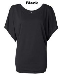 Draped Sleeve Dolman Top - ES Embroidery