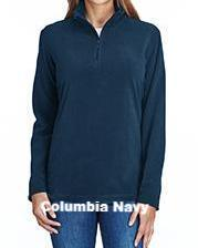 Columbia Ladies' Crescent Valley™ Quarter-Zip Fleece - ES Embroidery