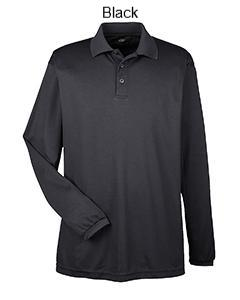 Cool & Dry Long-Sleeve Mesh Piqué Polo - ES Embroidery