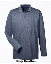 Cool & Dry Heathered Performance Quarter-Zip - ES Embroidery