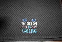The Ocean is Calling Kitchen Towel