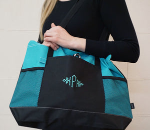 Zippered Tote - ES Embroidery