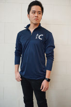Cool & Dry Sport Colorblock Quarter-Zip Pullover - ES Embroidery
