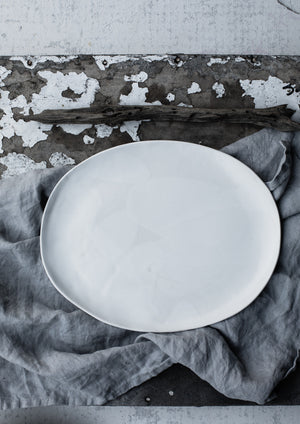plate / platter by clay beehive