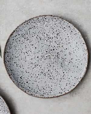 Rustic gritty grey speckled tapas plates / bowls by clay beehive ceramics