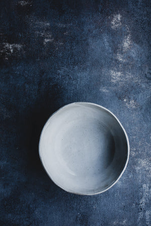 ceramic bowl deep perfect for noodles or soup by clay beehive