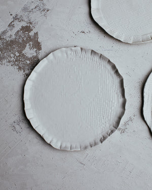 White Wonderland - Large Plates - Platters - Cake Plates and Spoons