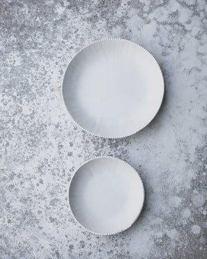 satin white bowls by clay beehive