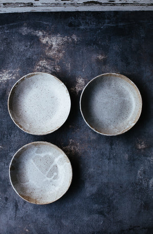 raw unglazed exterior bowls by clay beehive