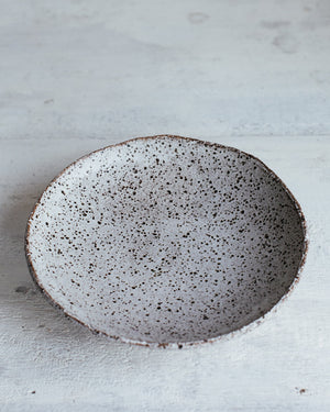 Footed Rustic Bowls