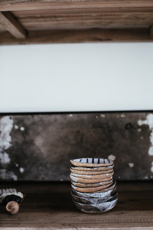 Rustic grey and white speckle Dishes