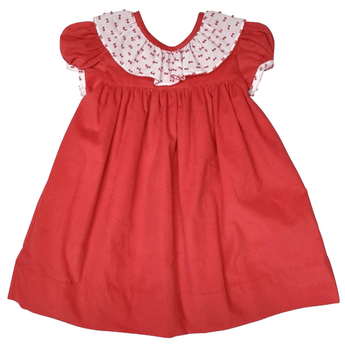 1z 2z 3z baby toddler boutique swiss dot marco and lizzy holiday corduroy dress childrens classic clothing