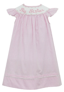 Big Sister Smocked Dress
