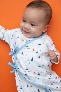 Sailboat Muslin Coverall