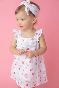 Cherry-O Muslin Sundress