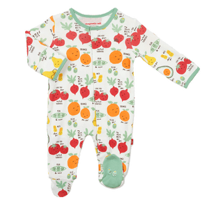 1z 2z 3z perfect puns organic cotton magnetic  footie boutique baby clothing richmond virginia